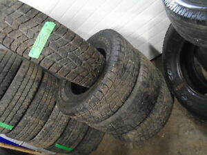 FOUR USED ALL SEASON  LT/275-70-18 { HERCULES } R.H AUTO