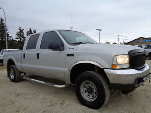 2004 Ford F-250  CREWCAB  4X4 -ONE OWNER TRUCK----ONLY 133,000KM