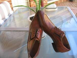 BRAND NEW VERO CUIO  MEN LEATHER BROWN SHOES SIZE 10 WITH TAG Bella Vista The Hills District Preview