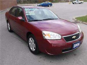 2006 CHEVROLET MALIBU LT ** ONLY 102000 KMS ** LOADED **