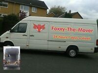 **FOXXY'S Man & Van SHORT NOTICE SERVICE Can be there WITHIN the hour** From £20