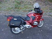 2003 Bmw r1150rt in red excellent condition with only 24,366 miles panniers fsh