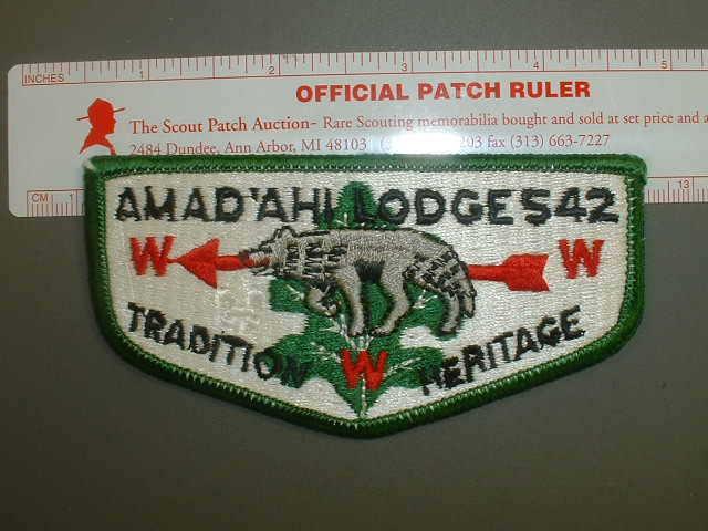 Boy Scout OA 542 Amad