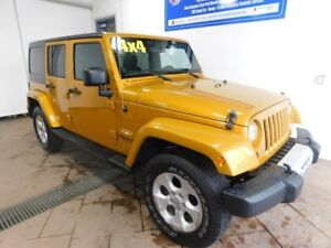 2014 Jeep Wrangler Unlimited Sahara *Manual*