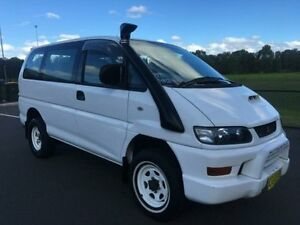 1997 Mitsubishi Delica Exceed (spacegear) White 4 Speed Automatic Wagon Revesby Bankstown Area Preview