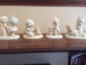 4 Precious Precious Moments figurines Kitchener / Waterloo Kitchener Area image 1