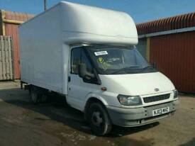 Ford transit Luton van, mot till Sept. Spares or repair. To be towed away.