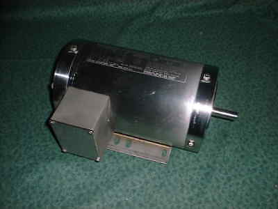Electric Motor 1 Hp - 3phase - 1735 Rpm Stainless Steel Washdown 32292-n4