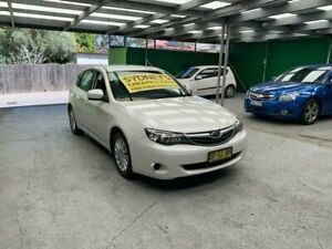 2011 Subaru Impreza G3 MY11 R AWD White 4 Speed Sports Automatic Hatchback Croydon Burwood Area Preview