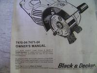 Black and Decker Work Wheel