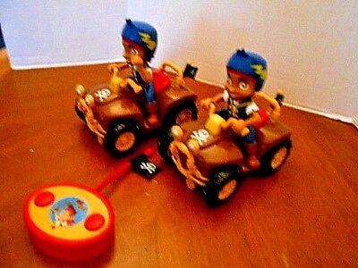 Disney Jake and the Neverland Pirates Set of 2 Bikes  Remote