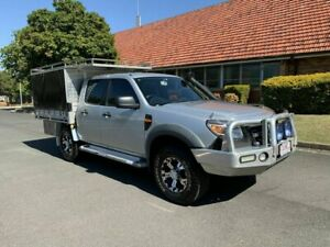2010 Ford Ranger PK XL Silver 5 Speed Manual Dual Cab Chermside Brisbane North East Preview