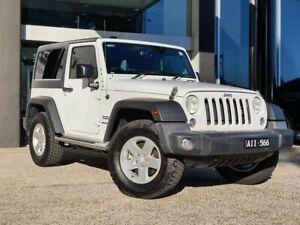 2016 Jeep Wrangler JK Sport White Automatic South Melbourne Port Phillip Preview