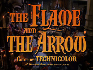 the flame and the arrow starring burt lancaster dvd