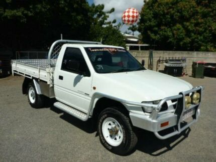 1998 Holden Rodeo TF R9 LX White Manual Cab Chassis
