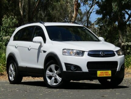 2011 Holden Captiva CG Series II 7 AWD CX White 6 Speed Sports Automatic Wagon Melrose Park Mitcham Area Preview
