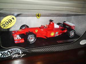 NEW-Mattel DIECAST 1/18 F1 FERRARI F-2001 Michael Schumacher