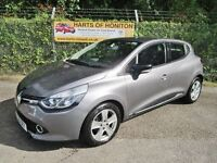 Renault Clio 1.5 Dynamique MediaNav DCi 90 5DR TURBO DIESEL (oyster grey) 2013