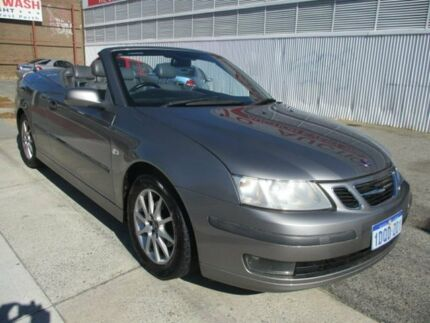 2003 Saab 9-3 Silver Sports Automatic Convertible West Perth Perth City Area Preview