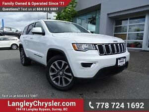 2017 Jeep Grand Cherokee Laredo ACCIDENT FREE w/ 4X4, REAR-VI...