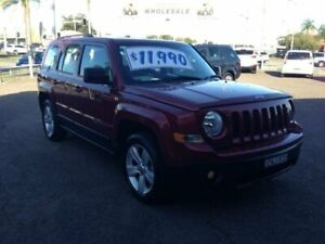 2013 Jeep Patriot MK MY12 Sport (4x2) Red 6 Speed CVT Auto Sequential Wagon Broadmeadow Newcastle Area Preview