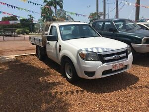 2010 Ford Ranger 2X4 White 5 Speed Manual Utility Hidden Valley Darwin City Preview