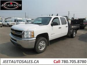 2012 Chevrolet Silverado 2500HD LT Crew Cab with 8Ft deck