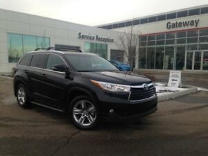2015 Toyota Highlander Limited, Leather, Heated Seats, Nav, Back
