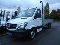 2015 MERCEDES-BENZ SPRINTER 2.1TD 313CDI LWB 12FT 6 ALLOY DROPSIDE