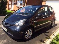 Toyota Aygo, Black VVI, 1.0 Petrol, 3 door, manual, cheap tax and insurance