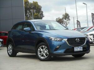2019 Mazda CX-3 DK4W7A Maxx SKYACTIV-Drive i-ACTIV AWD Sport Blue 6 Speed Sports Automatic Wagon Ravenhall Melton Area Preview
