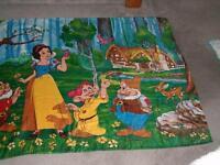 Disney princess  towel  snow white or Pocahontas ,books