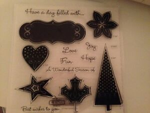Stampin up and Close to my heart stamps