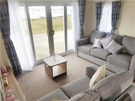 ************BRAND NEW STATIC CARAVAN ON NORTH EAST COAST, SITE FEES INCLUDED UNTIL 2019************