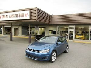 2015 Volkswagen Golf TDI NAVIGATION PANORAMIC ROOF