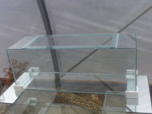 New 55 Gallon Terrarium with Screen Lid