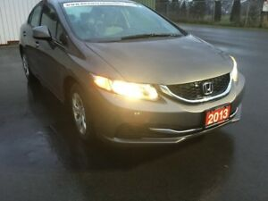 2013 Honda Civic LX 4dr Sedan