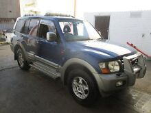 2001 Mitsubishi Pajero NM Exceed Blue 5 Speed Manual Wagon Tottenham Maribyrnong Area Preview