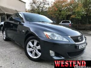 2006 Lexus IS250 GSE20R Prestige Grey 6 Speed Auto Sequential Sedan Lisarow Gosford Area Preview