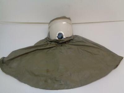 Nos 3m Butyl Rubber Respirator Hood Olive Be-10br Sr