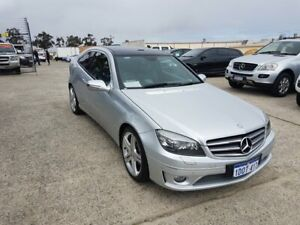 2011 Mercedes-Benz CLC200 Kompressor 203 MY10 Silver 5 Speed Automatic Coupe Wangara Wanneroo Area Preview