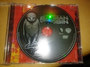 DC Comics Batman VS Robin DVD Movie
