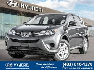 2014 Toyota RAV4 LE - AWD, Bluetooth, Cruise Control, Traction C