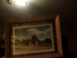 Bell Museum Wooden Framed Photo