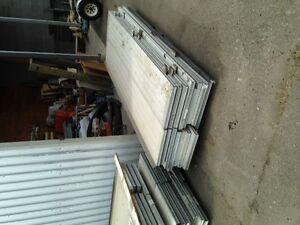 Overhead door panels