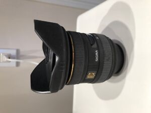 Sigma Wide Angle Lens for Nikon DX 10-20mm F4-5.6