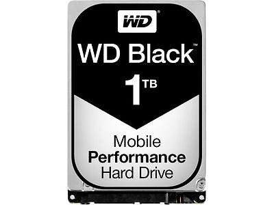 WD Black 1TB Mobile Hard Disk Drive - 7200 RPM SATA 6Gb/s 32MB Cache 2.5 Inch -