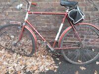BSA bike , retro bike not a Raleigh project