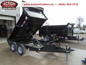 2017 6X10 DUMP TRAILER - BUILT TO LAST - BEST BANG FOR YOUR BUCK