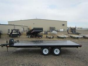 Rainbow Trailers *** 8.5x16 *** Excursion Series 10K Deck Over !